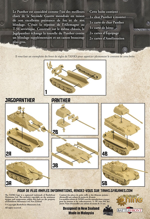Tanks : jeu au tour par tour sur table 512710
