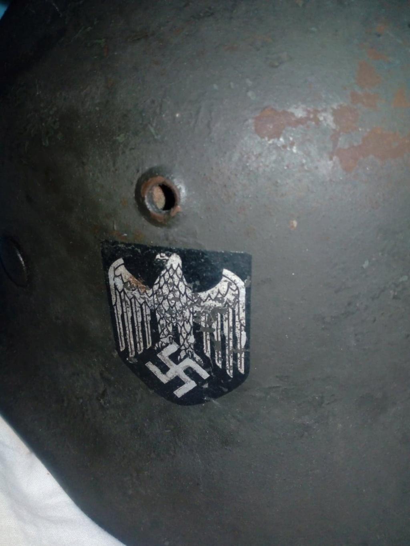 Casque allemand ww2 repro? 11642810
