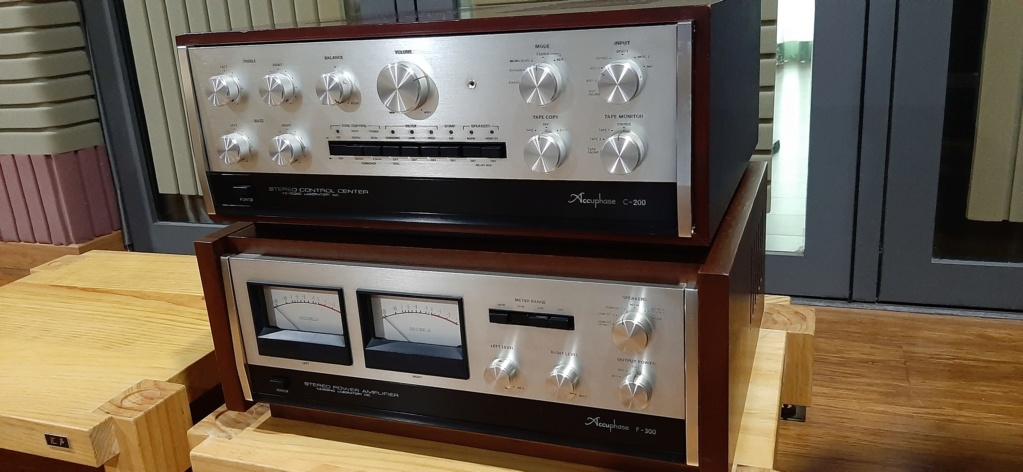 Accuphase c200 p300 20200611