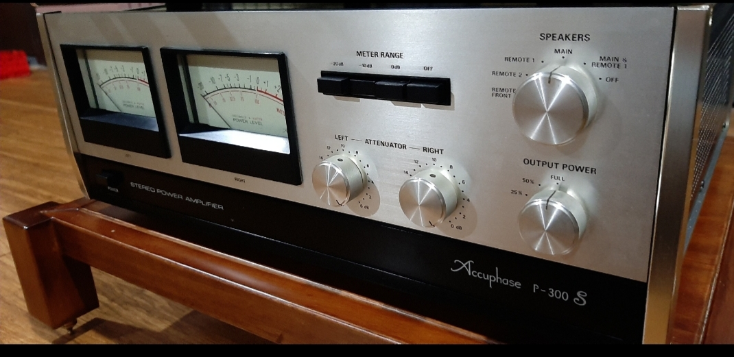 Accuphase c200x & p300s 20201013