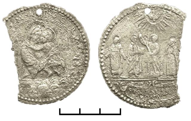 Virgen con Niño  / Cinco santos canonizados en 1622 A_sa_s10
