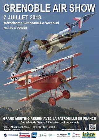 Visite du Secours Aérien Français et Meeting de Grenoble  Illust11