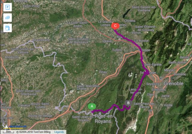 Sorties Auvergne-Rhône-Alpes - Page 2 Trajet11