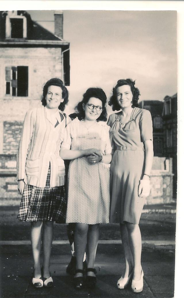 aide identification 2 personnes FECAMP vers 1950 env Numzor18