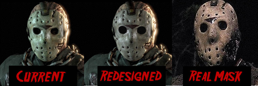 Should Friday the 13th the Game Redesign the Part 7 Jason Mask? Crcub710