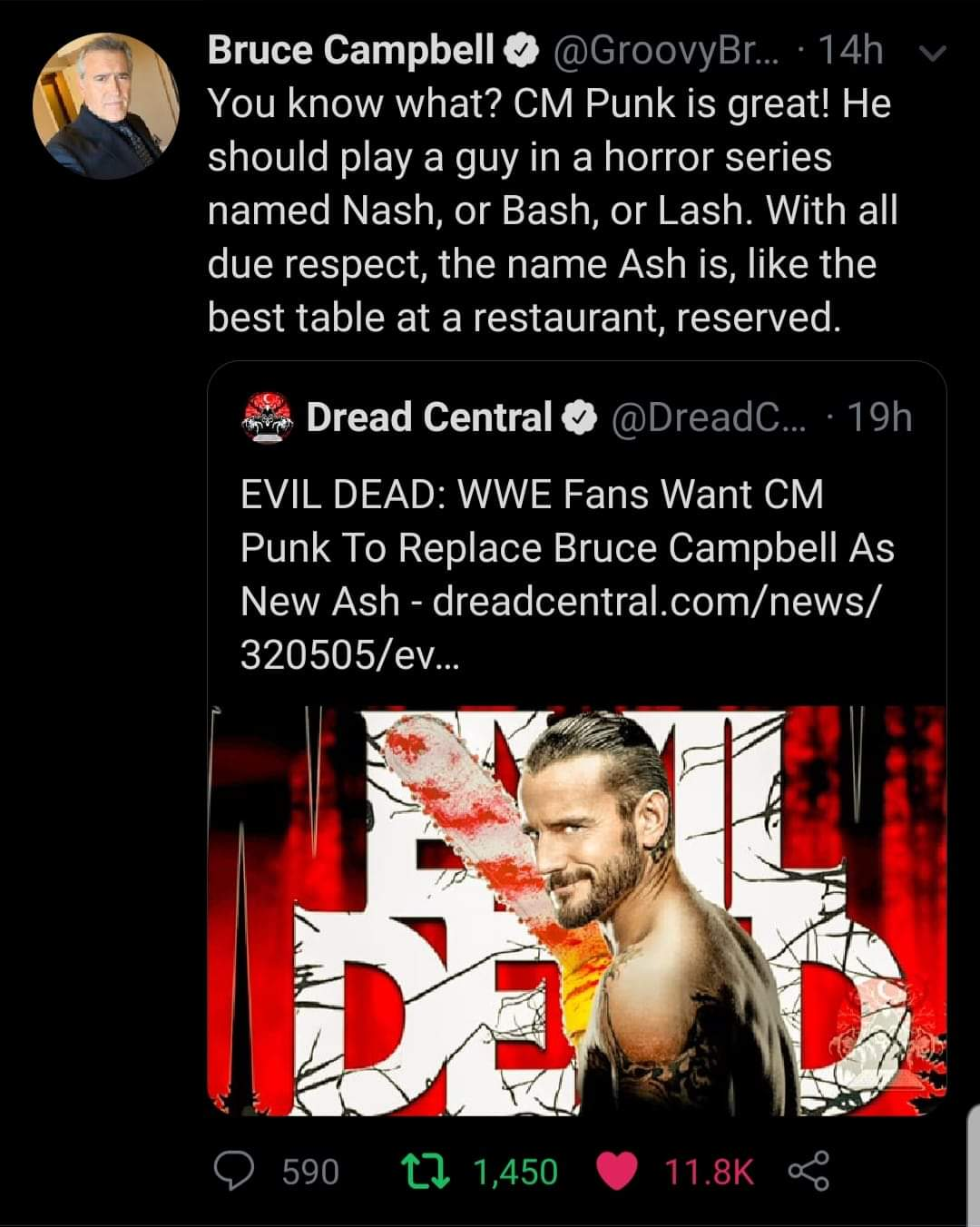 Bruce Campbell never said CM Punk can be Ash Williams Fb_img12