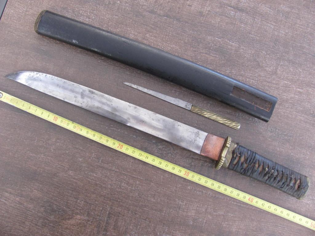 SABRE ET poignard JAPONAIS Coutea10