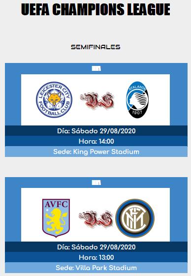 [AICv25] Horarios Semifinales UCL & UEL IDA & VUELTA 15983210