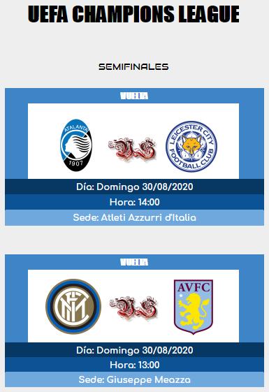[AICv25] Horarios Semifinales UCL & UEL IDA & VUELTA 15983213