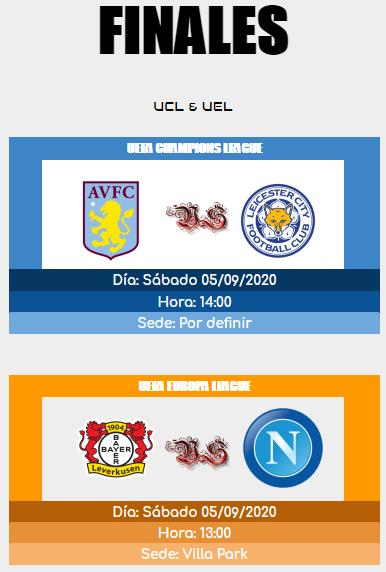 [AICv25] Horarios Finales de UCL & UEL // UEFA SuperCup 15988910