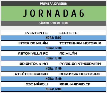 [AICv28] Horarios J6 de Ligas 1D, 2D, 3D & 4D // Octavos de Final de Copa AIC // J1 & J2 de Liga HF POD 1d_j610