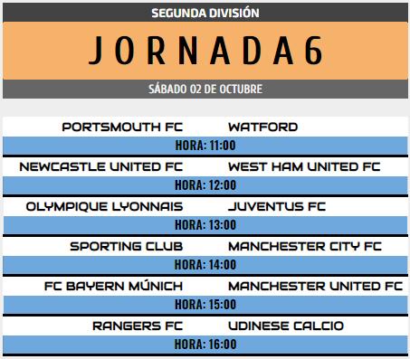 [AICv28] Horarios J6 de Ligas 1D, 2D, 3D & 4D // Octavos de Final de Copa AIC // J1 & J2 de Liga HF POD 2d_j610