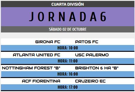 [AICv28] Horarios J6 de Ligas 1D, 2D, 3D & 4D // Octavos de Final de Copa AIC // J1 & J2 de Liga HF POD 4d_j610