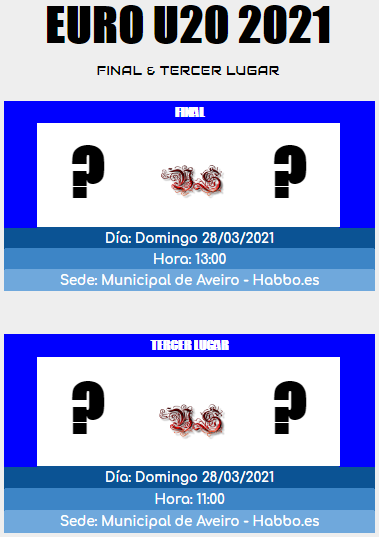 [AICv26] Horarios Semifinales, Finales & Terceros Lugares de la Euro Portugal 2021 & Euro U20 Portugal 2021 Final_13
