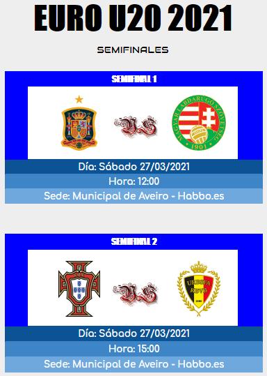 [AICv26] Horarios Semifinales, Finales & Terceros Lugares de la Euro Portugal 2021 & Euro U20 Portugal 2021 Semifi11
