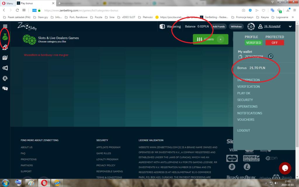ZenCasino €5 za darmo bez depozytu - Page 3 Dfsagf10
