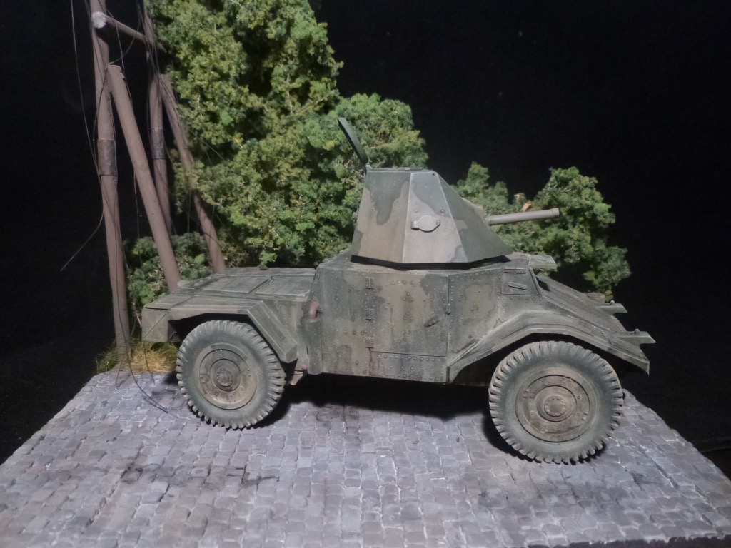 Panhard AMD 178 tourelle 47mm Renault   ALBY 1/35 411