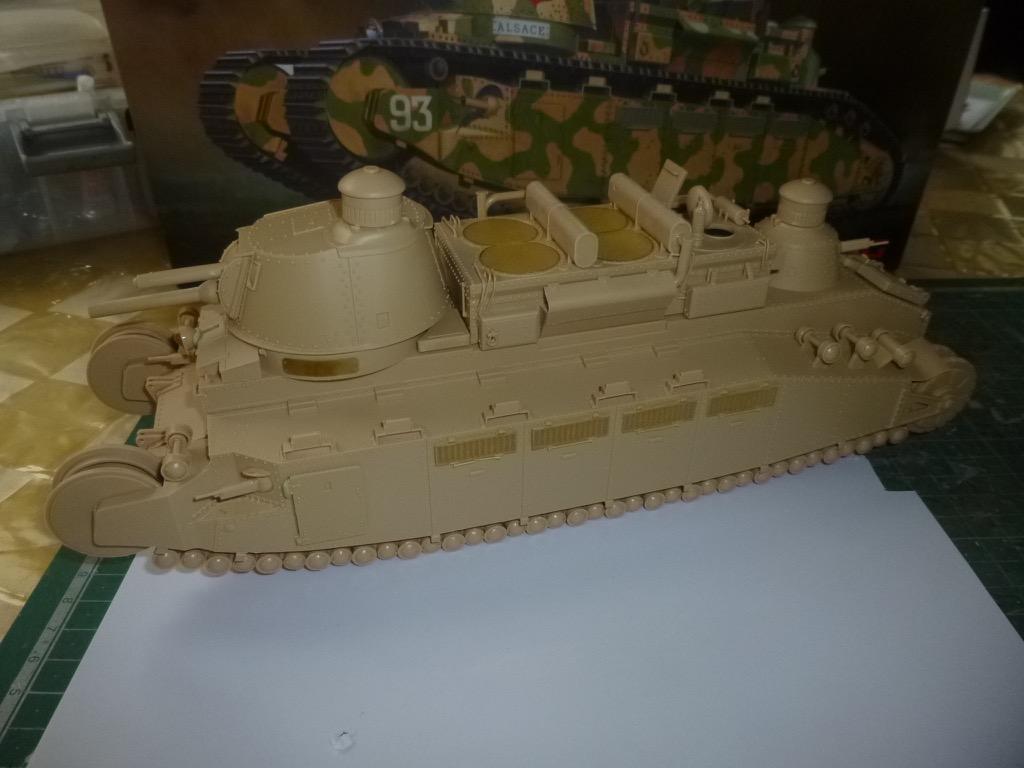 Char 2C, Meng 1/35 P1040712
