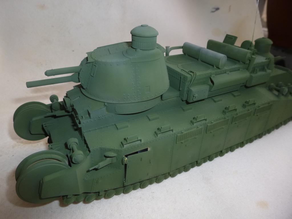 Char 2C, Meng 1/35 P1040814