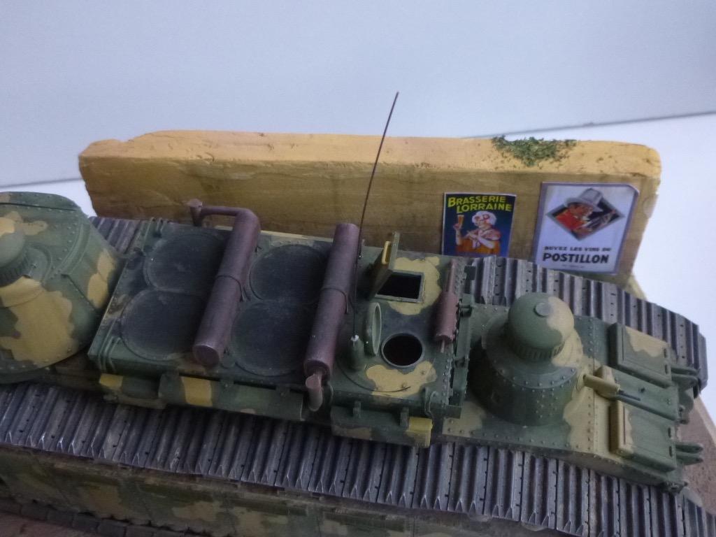 Char 2C, Meng 1/35 P1040912