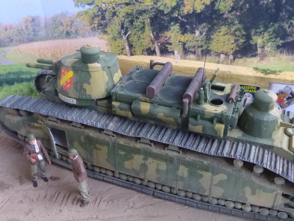 Char 2C, Meng 1/35 P1040917
