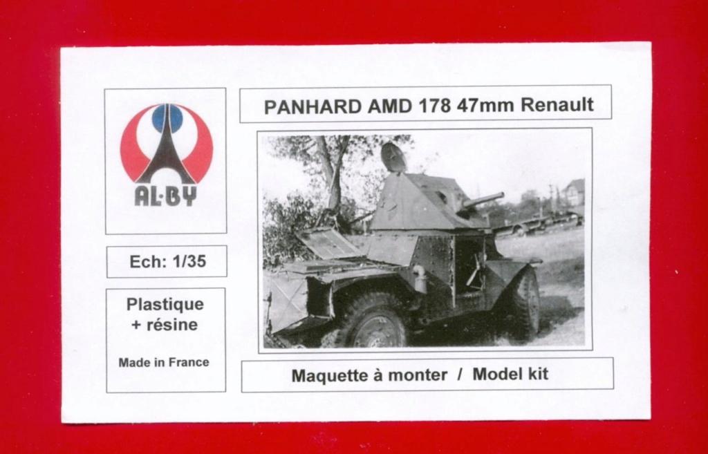 Panhard AMD 178 tourelle 47mm Renault   ALBY 1/35 Photo_10