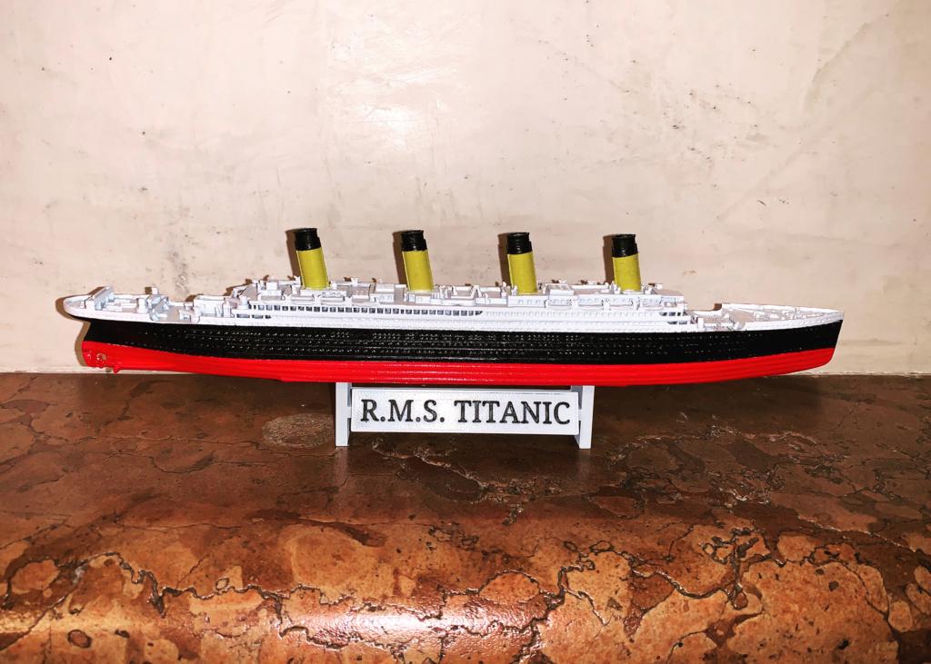 Titanic scala 1:1000 con stampante 3D Eeqc1610