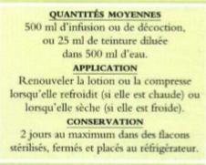 les soins par les plantes (descriptifs et remèdes) Lotion10