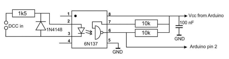Arduino Dcc-ci10