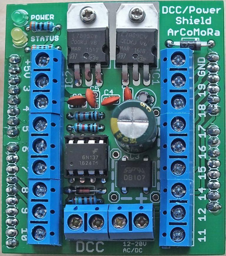 Arduino Dcc-po10