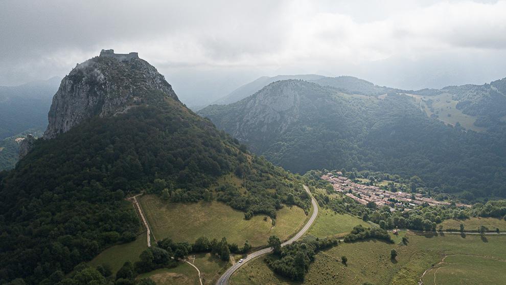 De retour de Montsegur en Ariège 06082010