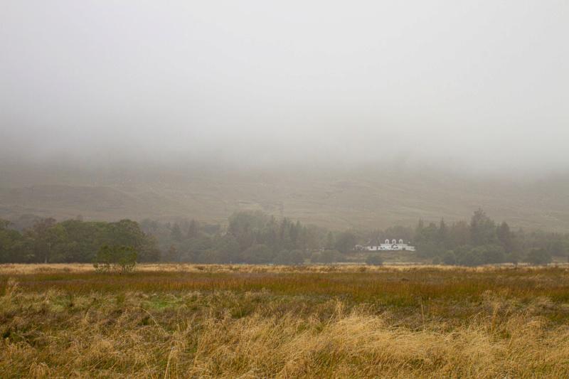Jour de brume autour du château Écossais  18092017