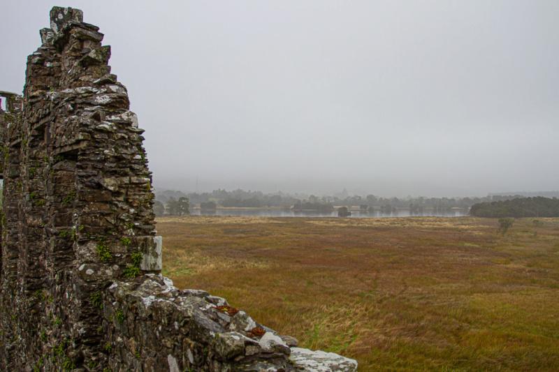 Jour de brume autour du château Écossais  18092018