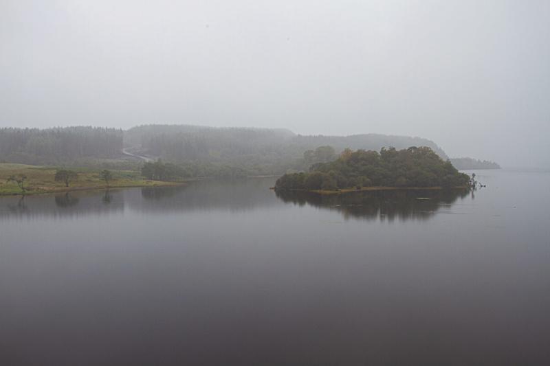 Jour de brume autour du château Écossais  18092019