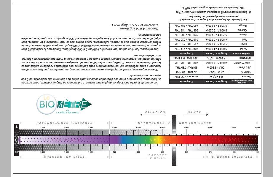 Biomètre et règle Bovis à faire soit même Biomet12
