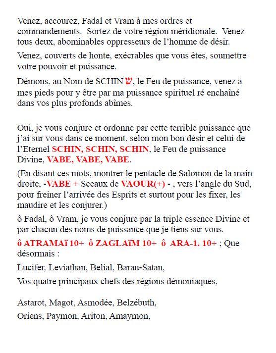 Rituel de protection magique Rituel90