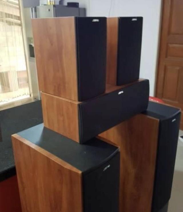 Jamo 5.1 surround speaker system 6d121c10