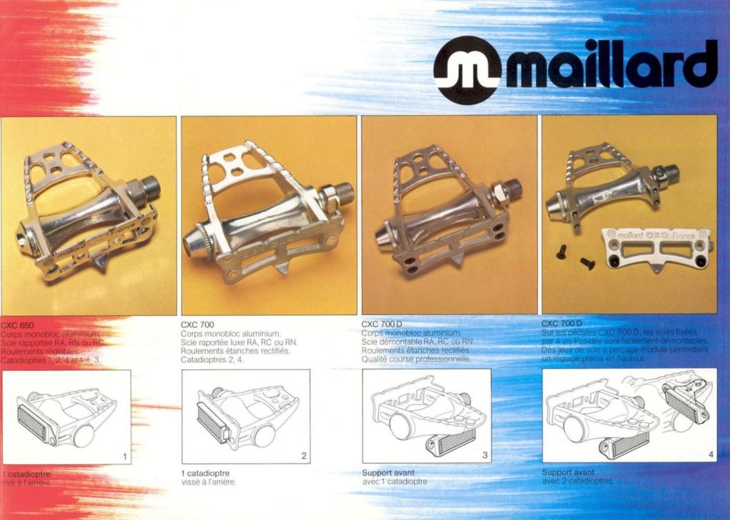 Pédales Maillard CXC Cxc210