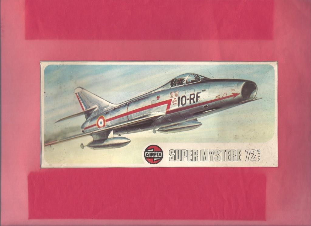Comparatif DASSAULT SUPER MYSTERE B2 AIRFIX & AZUR FRROM au 72ème  Airfi214