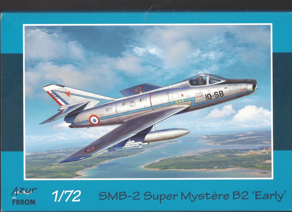 Comparatif DASSAULT SUPER MYSTERE B2 AIRFIX & AZUR FRROM au 72ème  Azur_f39