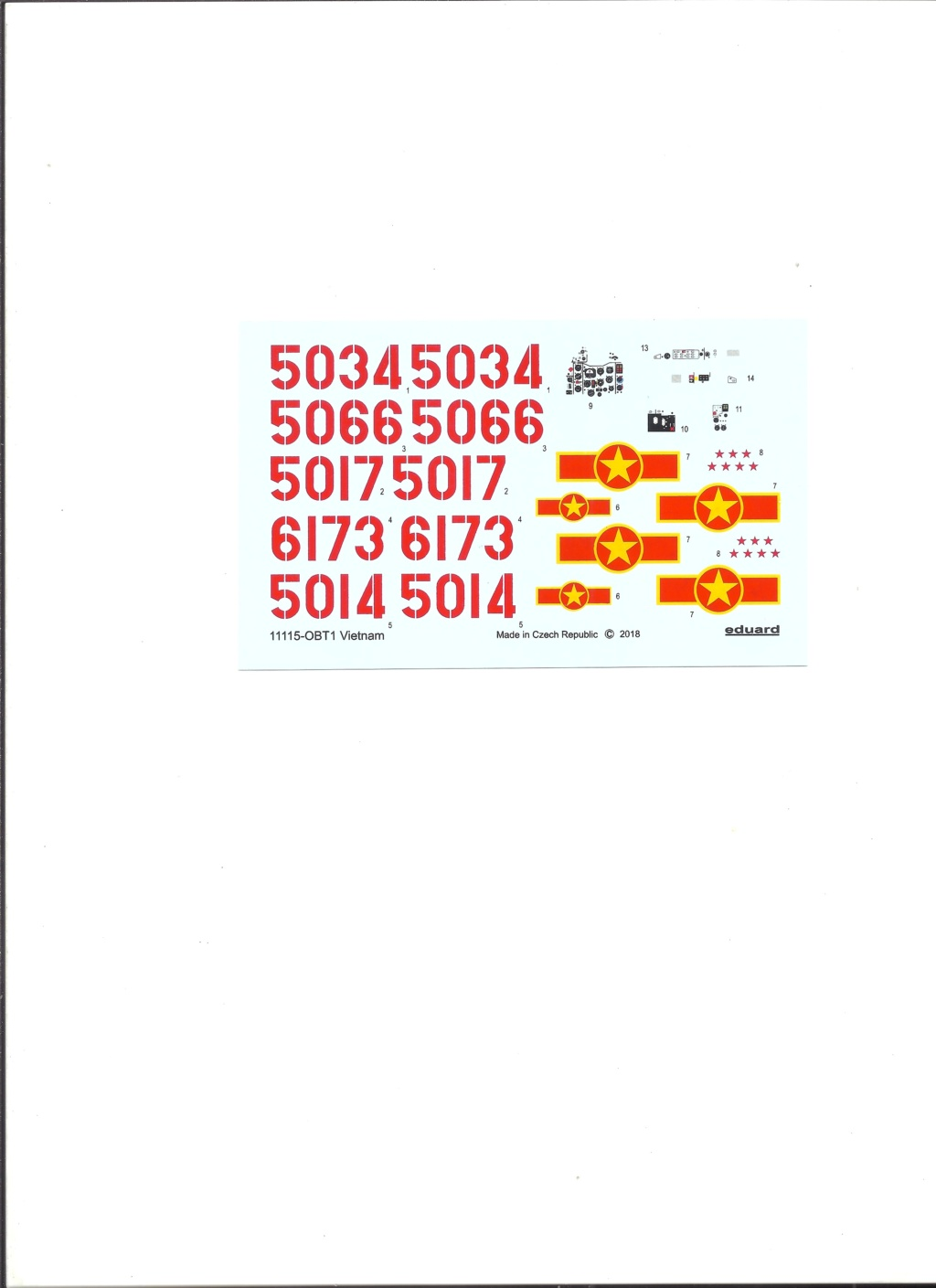 [EDUARD] MIKOYAN & GOUREVITCH MIG 21 PFM VIÊTNAM 1/48ème Réf 11115 Eduard32