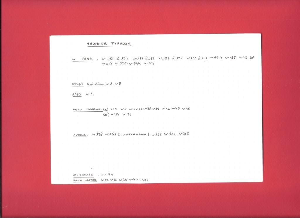 [AIRFIX] HAWKER TYPHOON IB Réf A02041 Fiche_50