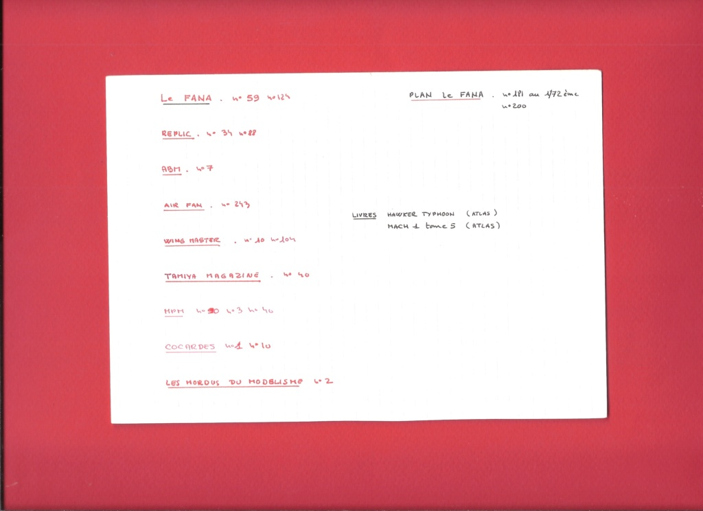[AIRFIX] HAWKER TYPHOON IB Réf A02041 Fiche_51