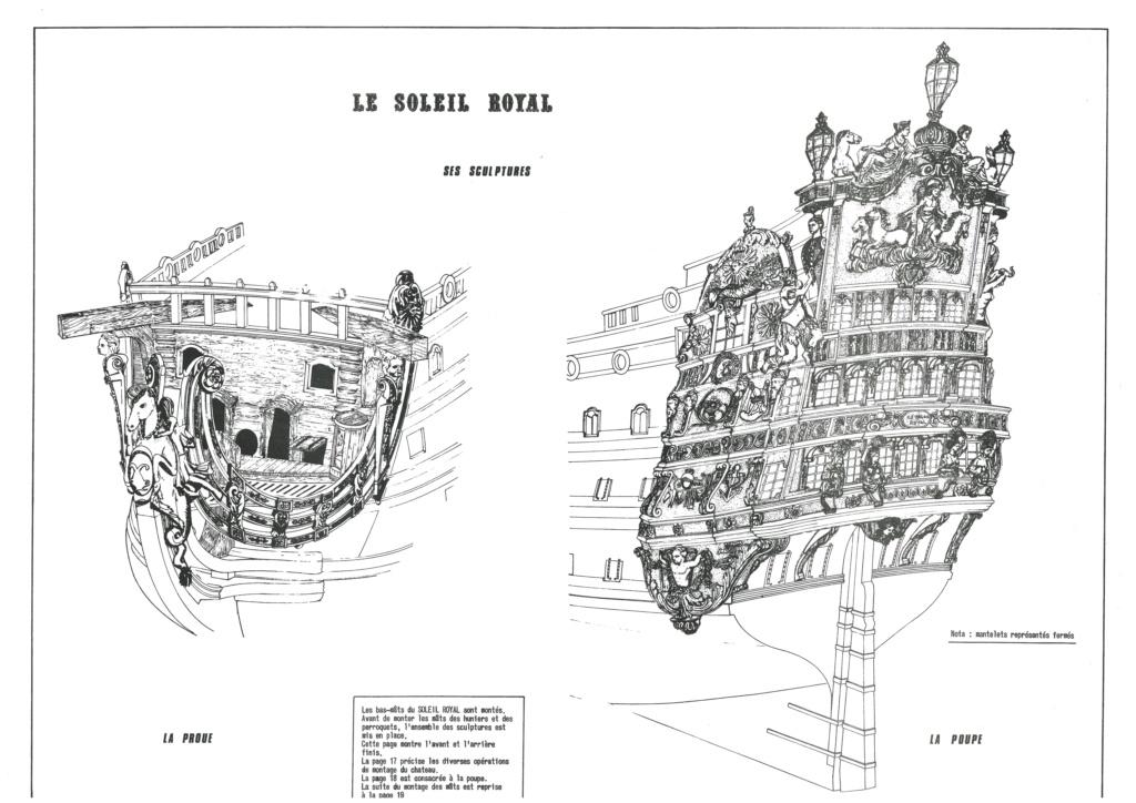 Vaisseau SOLEIL ROYAL 1/100ème Réf 899 Notice Hell1356