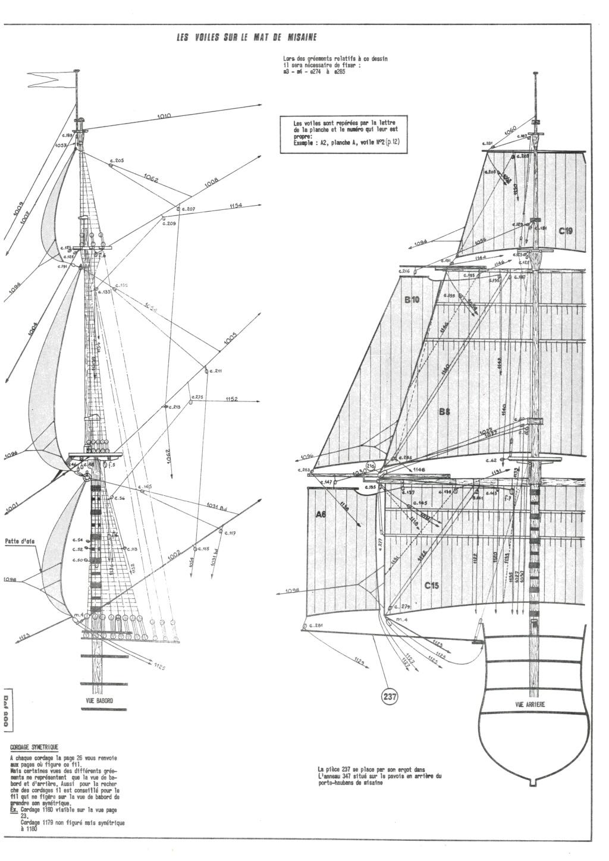 Vaisseau SOLEIL ROYAL 1/100ème Réf 899 Notice Hell1363