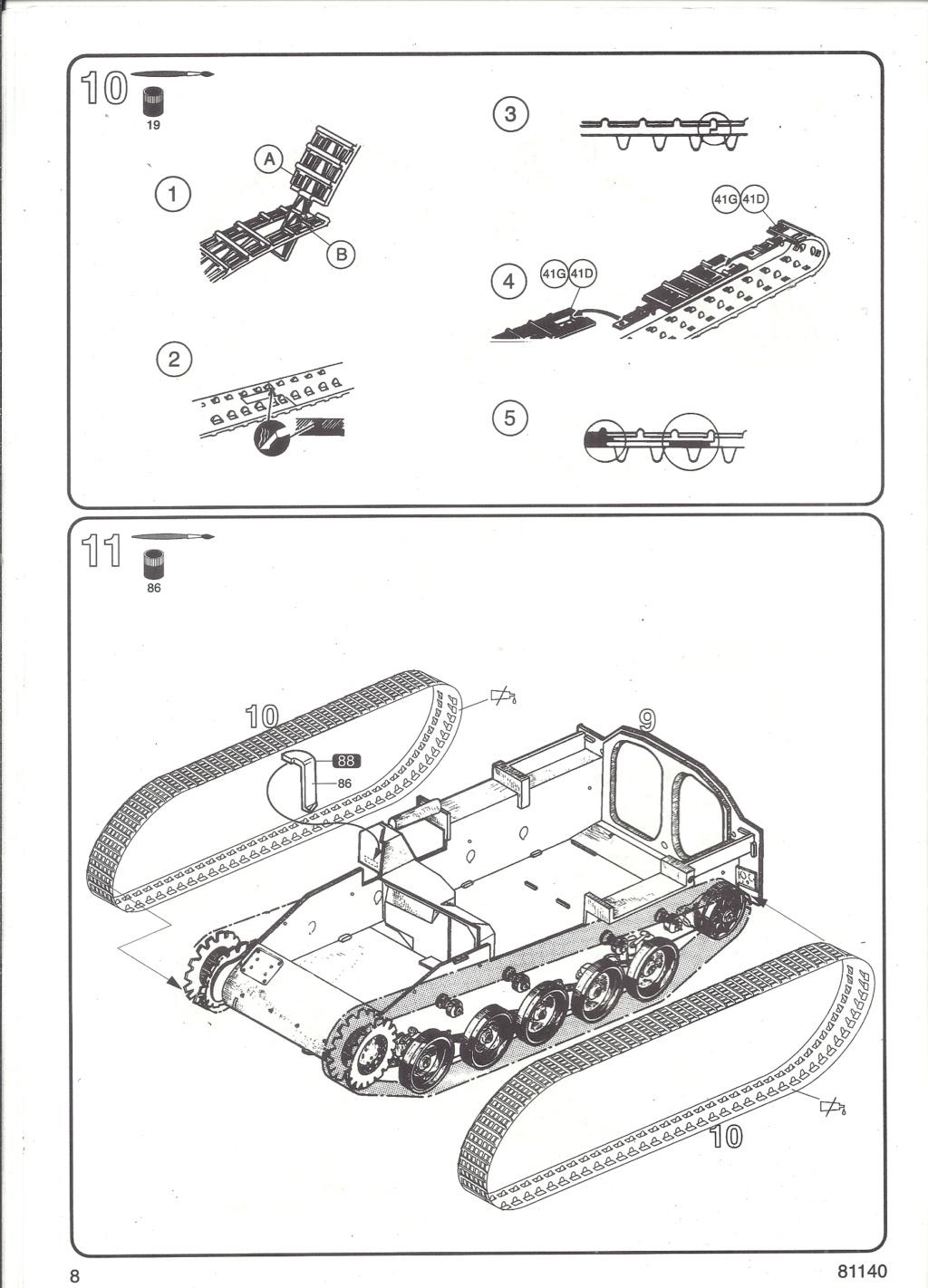 Véhicule de Combat d Infanterie AMX 13 M 56 VCI 1/35ème Réf 81140 Notice Hell2118