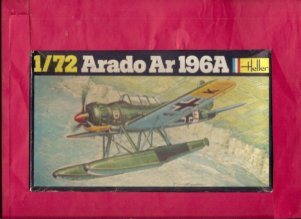 """ARADO Ar 196 A2 """"Aéronavale 1939"""" Réf 241 Hell2866"""
