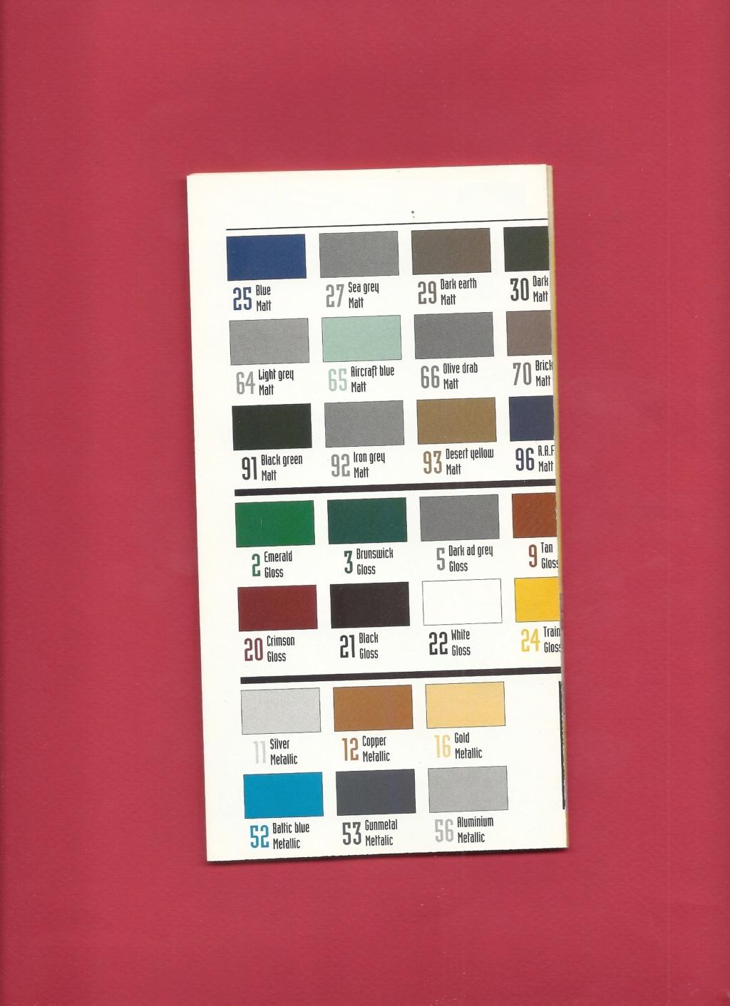 [1998] Dépliant gamme peintures acryliques 1998  Hell3140