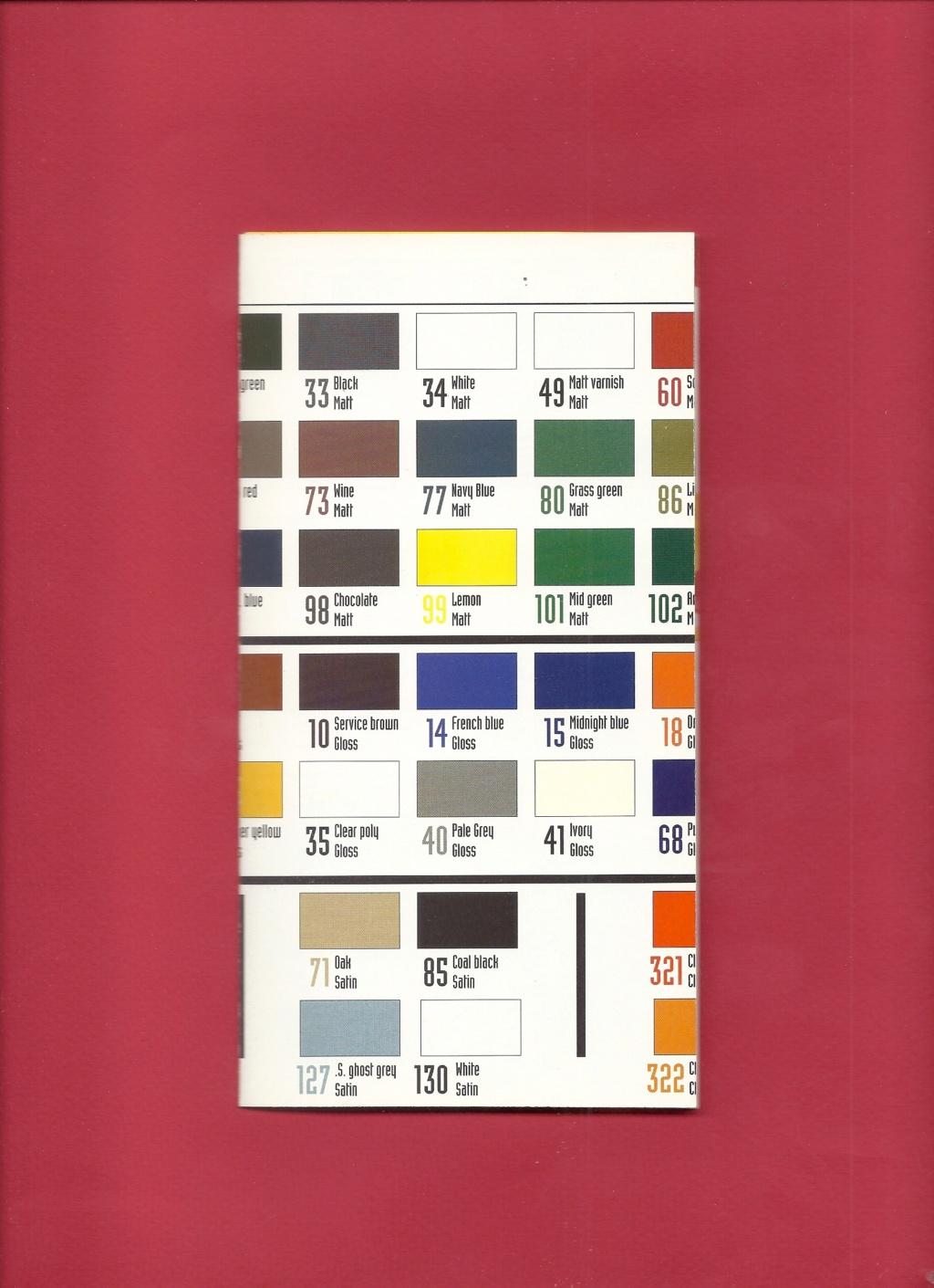 [1998] Dépliant gamme peintures acryliques 1998  Hell3141