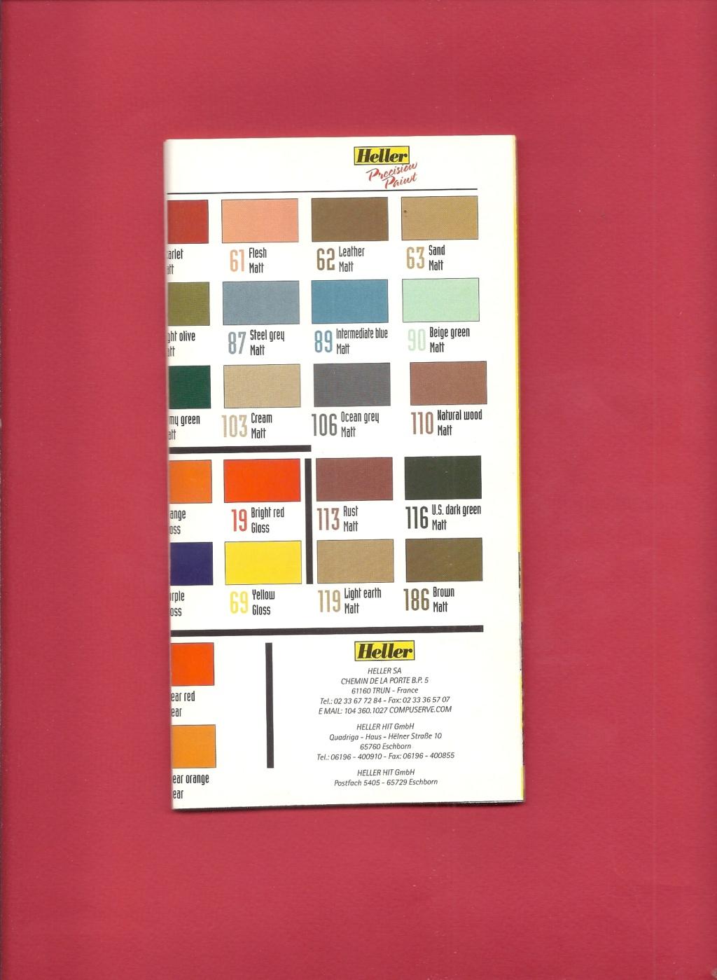 [1998] Dépliant gamme peintures acryliques 1998  Hell3142